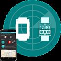 Wear pebble  finder / locator icon