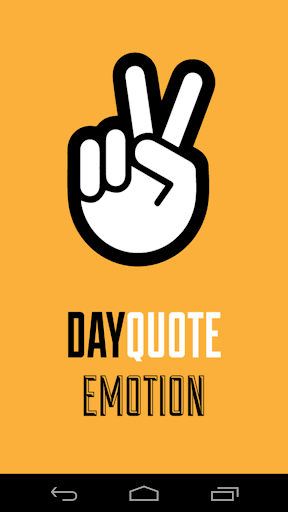 Emotion Day Quote
