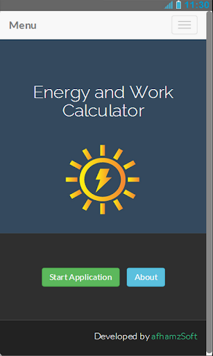 Energy and Work Calculator