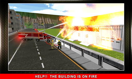 911 Rescue Fire Truck 3D Sim  screenshots 4