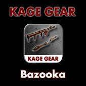 KAGE GEAR - Bazoooka Shots x3