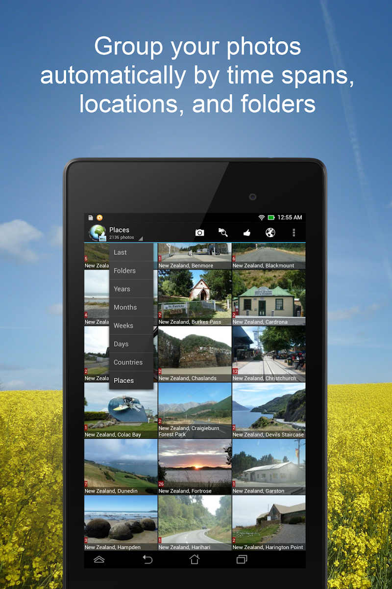 PhotoMap Gallery - Photos, Videos and Trips Screenshot 9