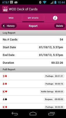 WOD Deck of Cards - screenshot