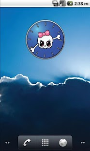 Girly Skull Clocks - FREE- screenshot thumbnail