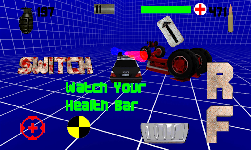 Heavy Metal Derby 3D Demoliton - screenshot thumbnail