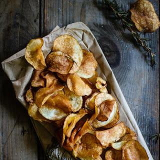 Rosemary & Garlic Potato Chips