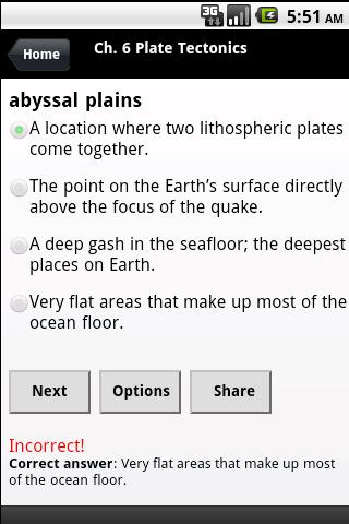 High School Earth Sciences - screenshot