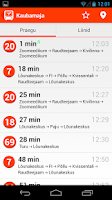 Screenshot of Tartu bussiajad