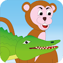 Crocodile and Monkey - Story icon