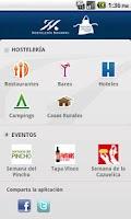Screenshot of Hostelería Navarra