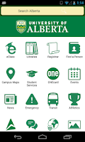 Screenshot of My UAlberta