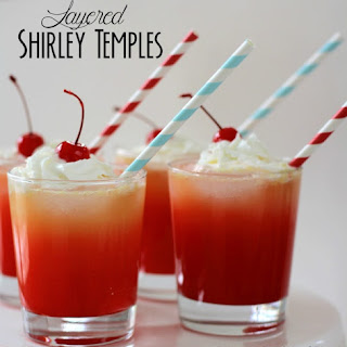 Layered Shirley Temples.