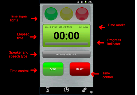 Speech Timer- screenshot thumbnail