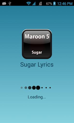 Maroon 5 Sugar Lyrics Free