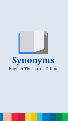 English Synonyms Thesaurus
