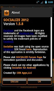 Orange Socialize for Facebook - screenshot thumbnail