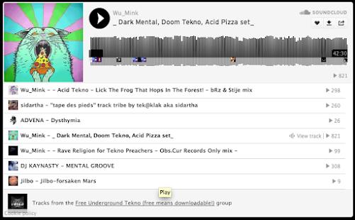 Free Underground Tekno Screenshot 8