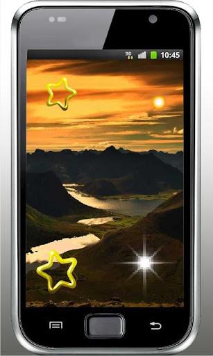 Mountains Sunset livewallpaper