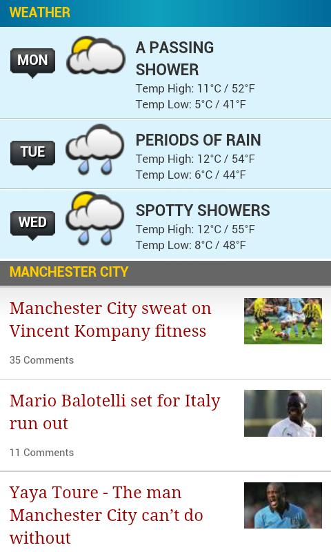Manchester Evening News - screenshot