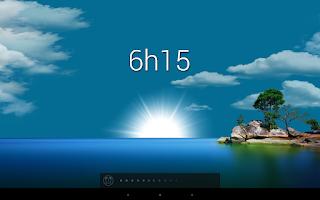 Screenshot of Glimmer (luminous alarm clock)
