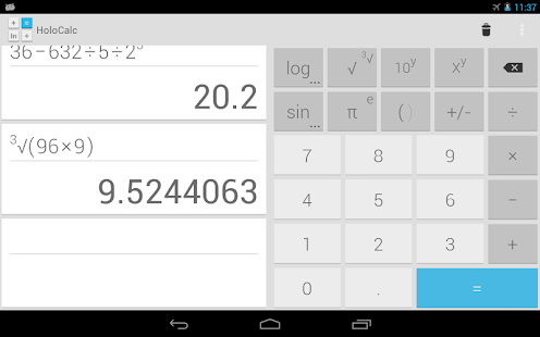 HoloCalc Scientific Calculator- screenshot thumbnail