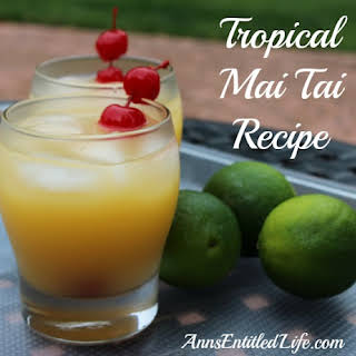 Tropical Mai Tai.