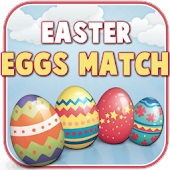 Happy Easter Eggs Match - Free