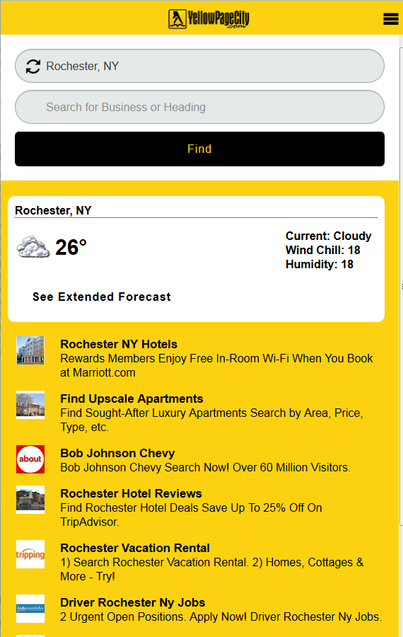 Yellow Pages - US- screenshot