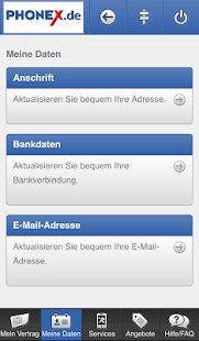 Phonex Servicewelt – Miniaturansicht des Screenshots