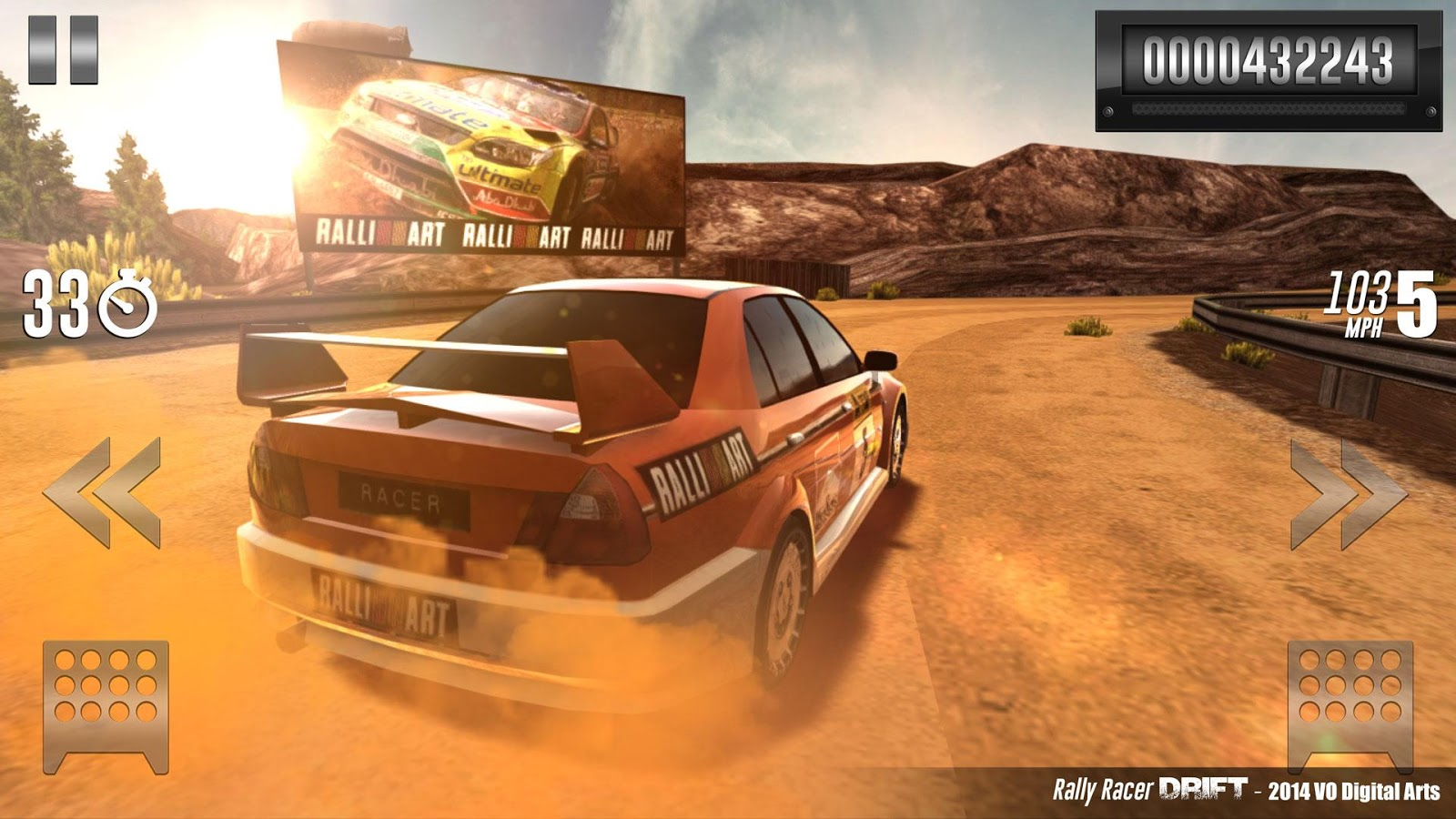 Rally Racer Drift - screenshot