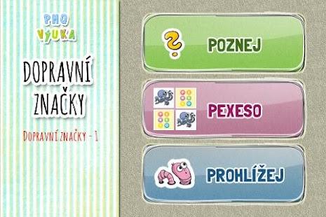 Nauč se dopravní značky [PMQ] - screenshot thumbnail