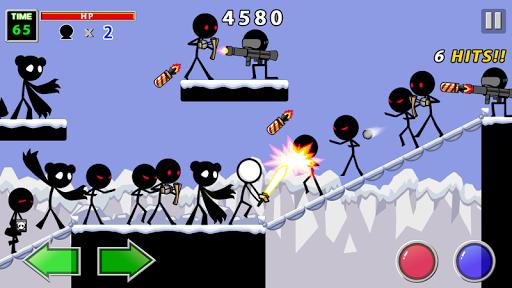 Trận chiến trong Stick Knight của NAO-MIC