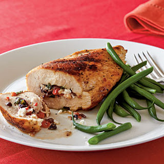 Mediterranean Stuffed Chicken Breasts.