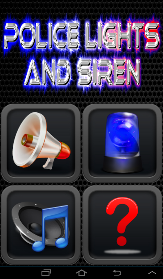 Police Lights And Siren Free - screenshot