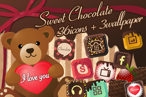 Chocolate Icon Wall Paper