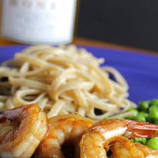Simple Sautéed Shrimp.