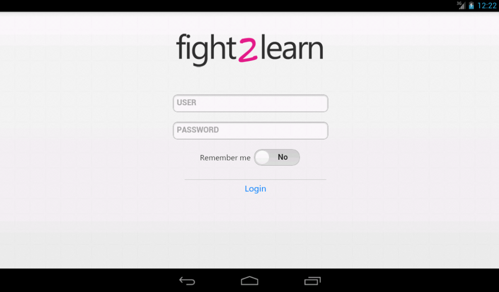 Fight2Learn- screenshot