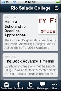 Rio Salado College - screenshot thumbnail