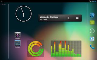 Screenshot of Music VU Visualizer Widgets