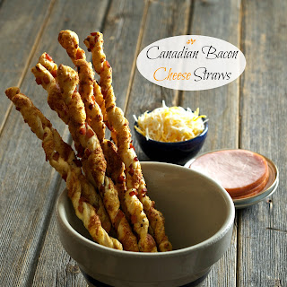 Canadian Bacon Cheese Straws