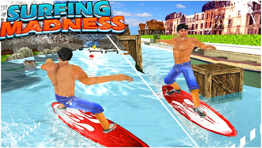 Surfing Madness - 3D Game
