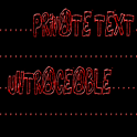Private Text Untraceable Pro icon