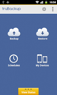 truBackup - Mobile Backup- screenshot thumbnail