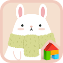 rabbit and carrot dodol theme icon