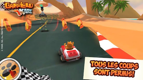 Garfield Kart Capture d'écran