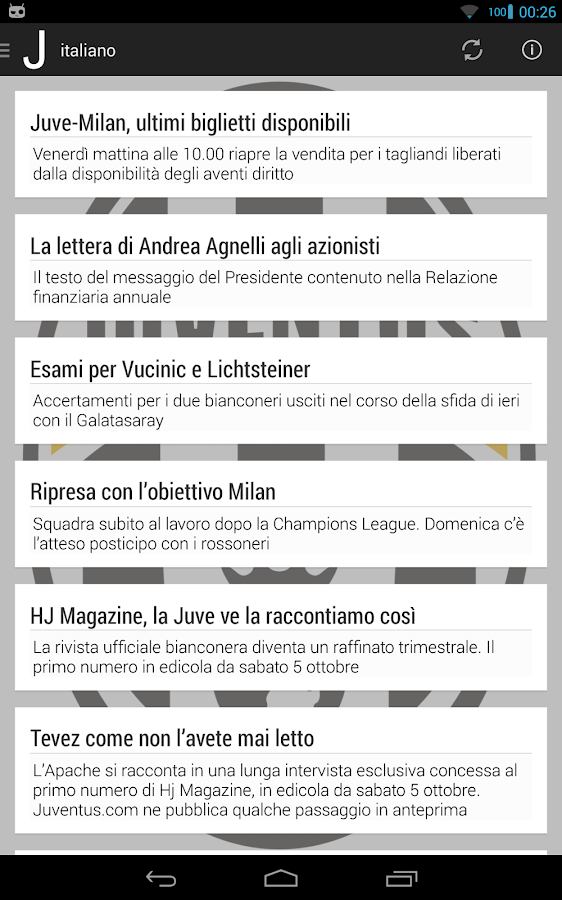 Juventus World - screenshot