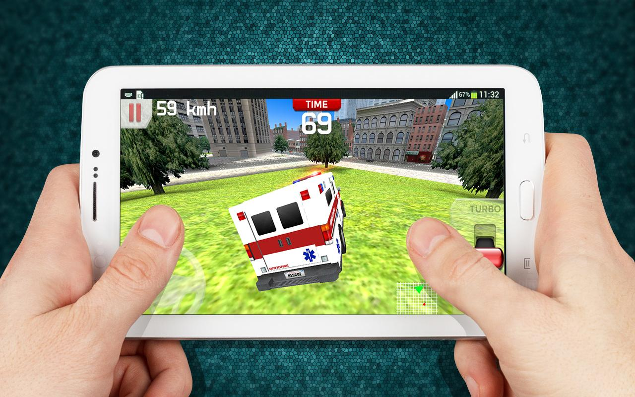 Emergency Ambulance Driving 3D- screenshot