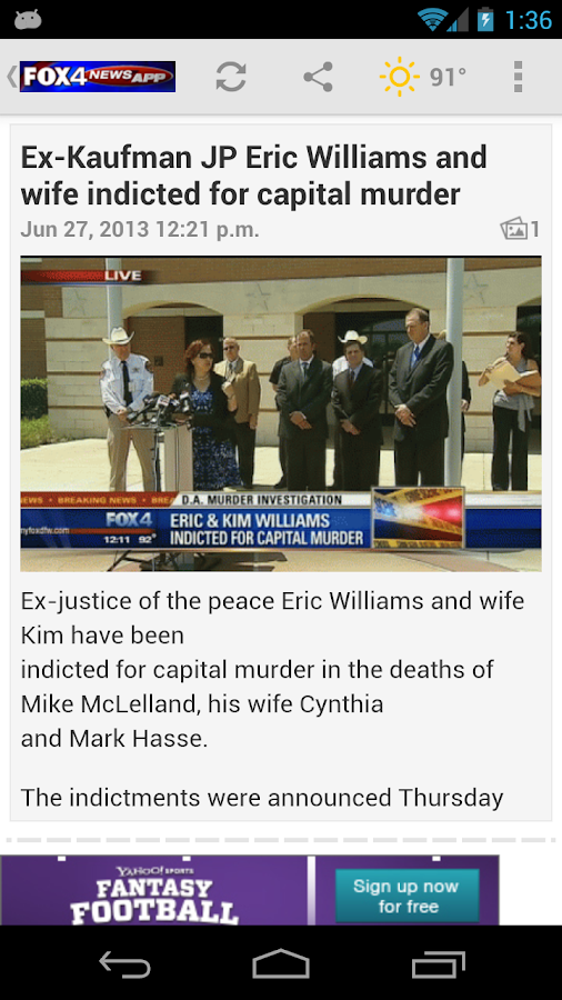 FOX 4 Dallas-Fort Worth - screenshot