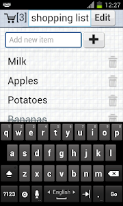 shopping list screenshot 3