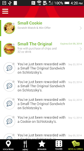 Schlotzsky's Lotz4Me Rewards- screenshot thumbnail
